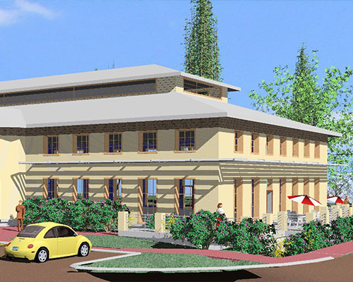 Inter-Faith Council's Community House renderings