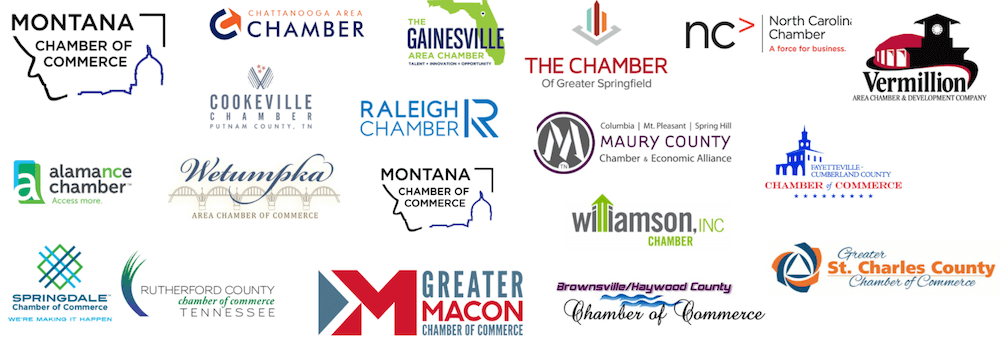 Convergent Nonprofit Solutions Chambers of Commerce nonprofit client logos