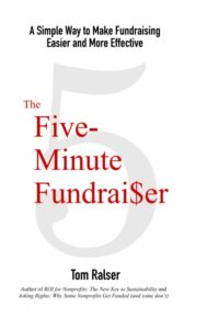 Five Minute Fundraiser Book Cover