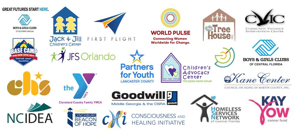 Convergent Nonprofit Solutions Human Services nonprofit client logos