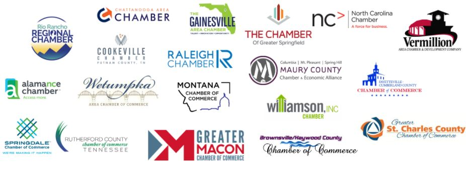 Chamber of Commerce client logos