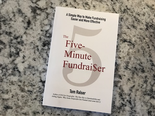 The Five-Minute Fundraiser by Tom Ralser book cover