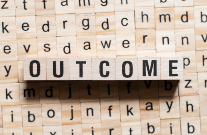 Outcomes over outputs